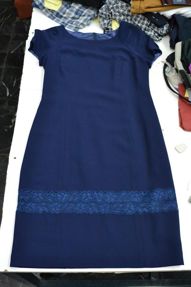 Μάκρεμα ρούχου με προσθήκη δαντέλας ή υφάσματος της επιλογής σας στο ύψος  που επιθυμείτε. 722ddcf3884